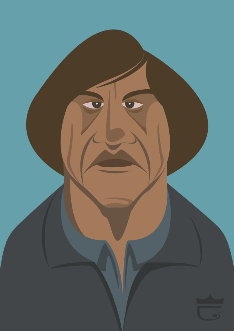 No Country For Old Men Illustration
