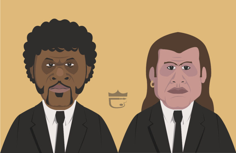 Pulp Fiction Illustration
