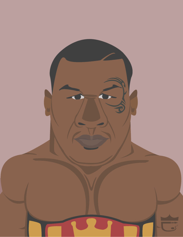 Mike Tyson Illustration