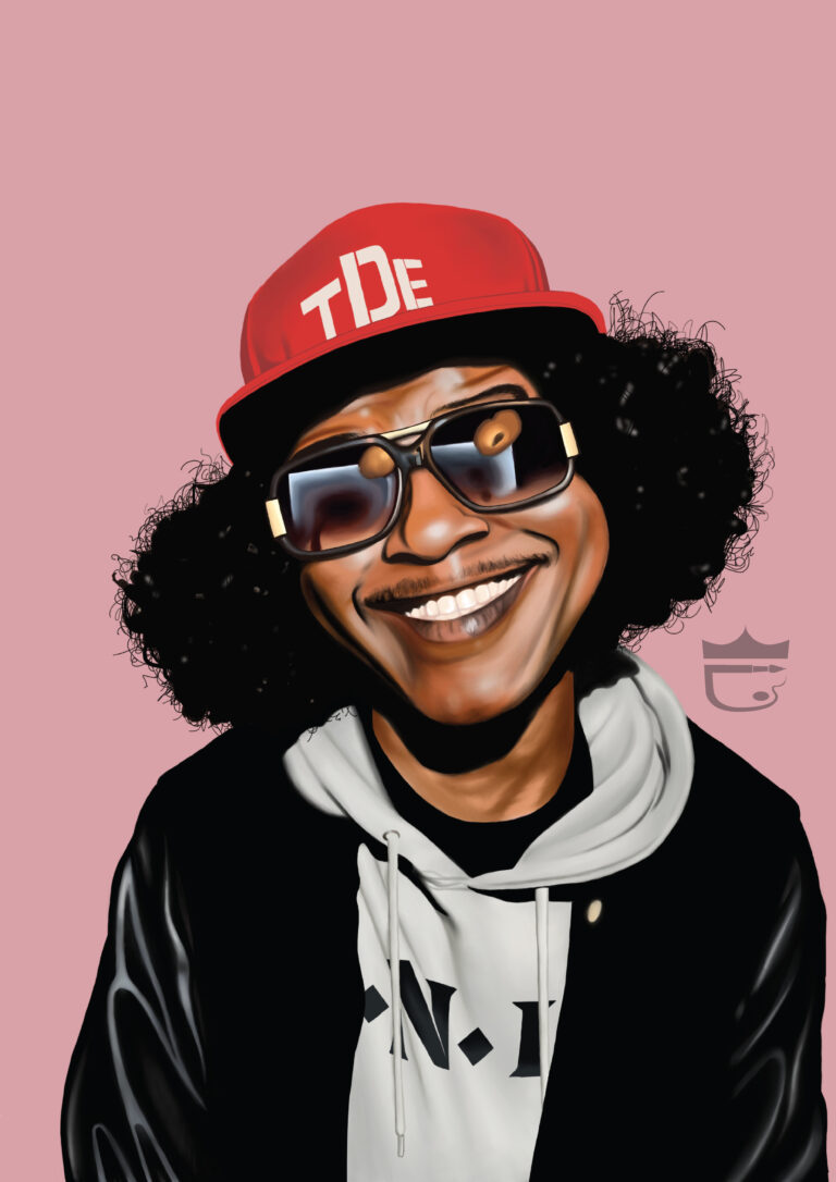 Ab Soul Painting