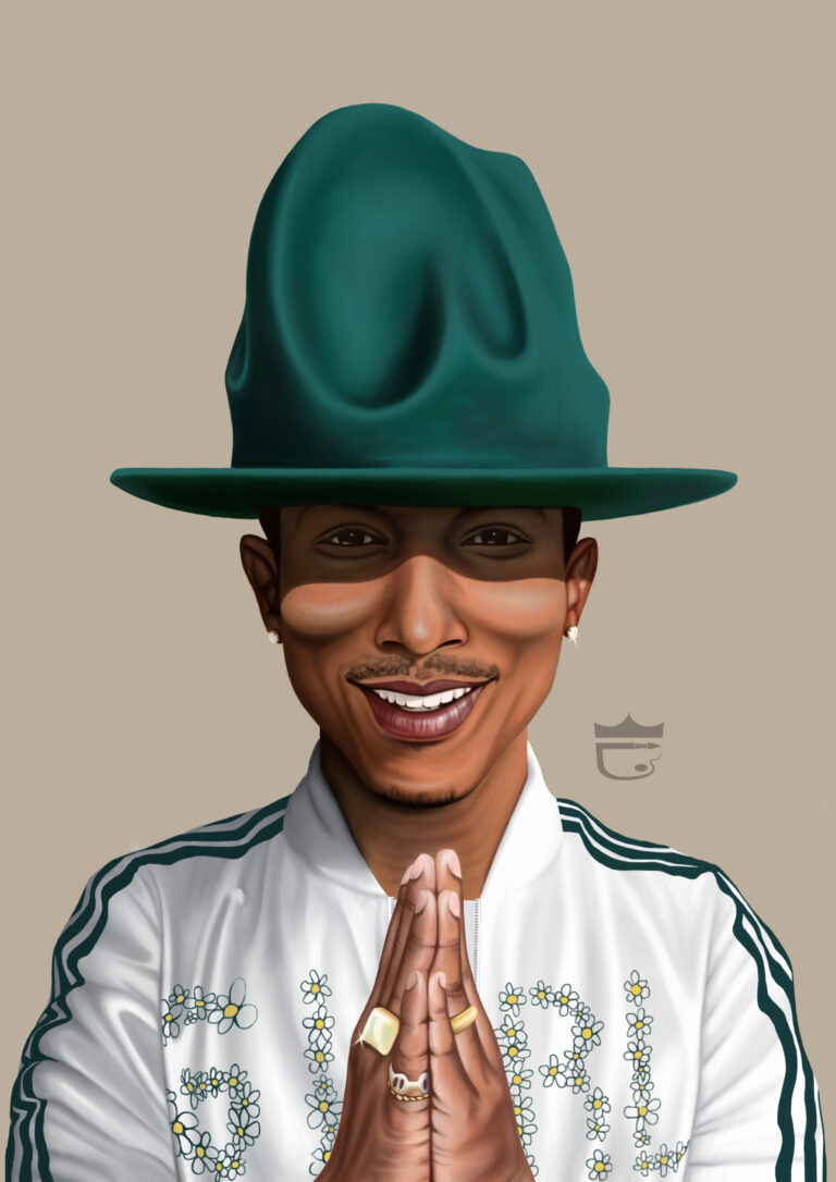Pharrell Williams Painting