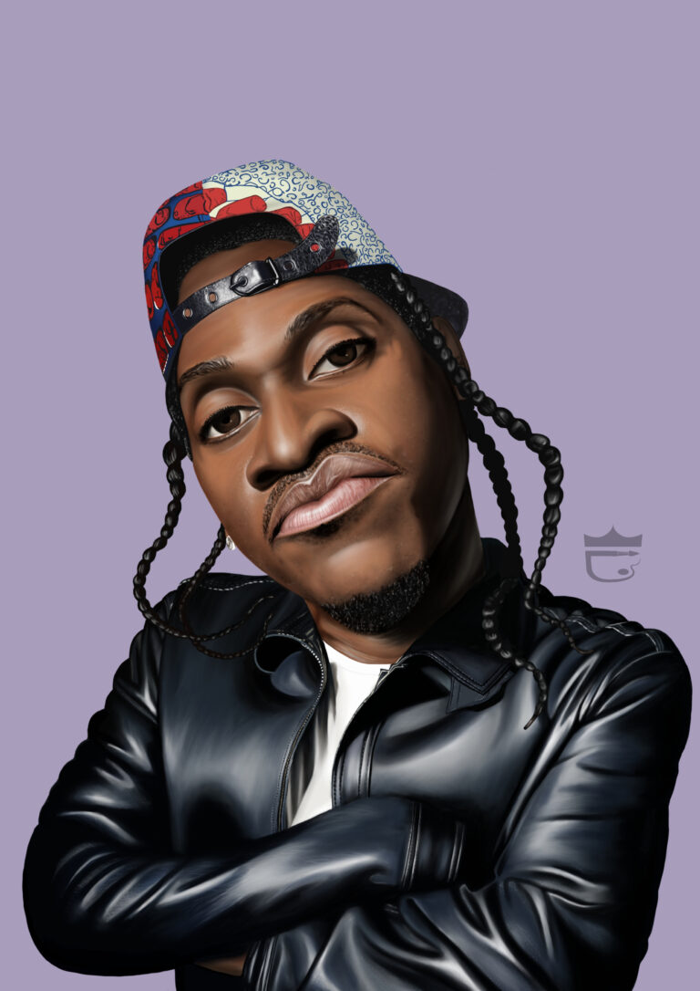 Pusha T Painting