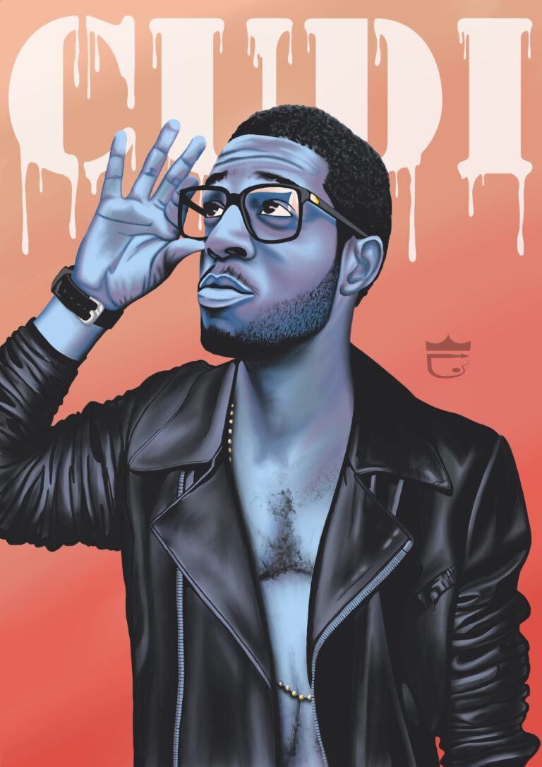 Kid Cudi Digital Painting