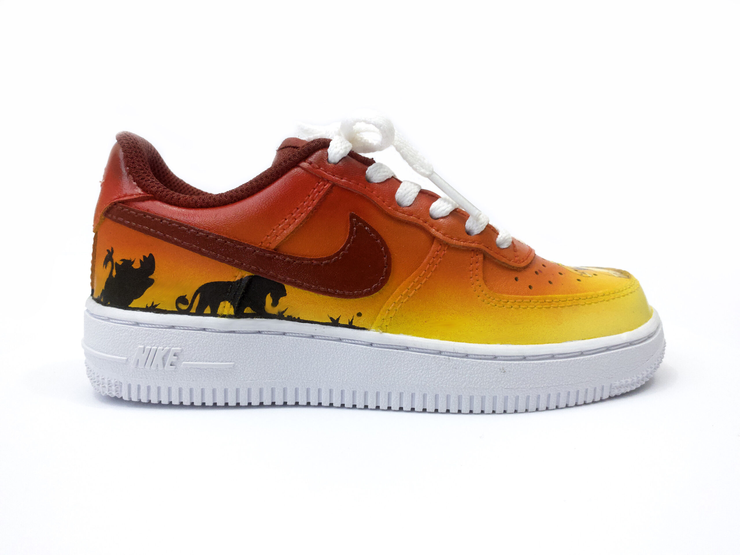 Custom AF1 Lion King